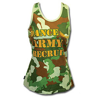 Mad Ally Dance Army Singlet