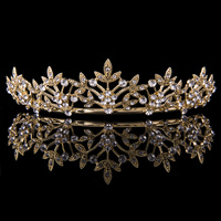 Large Vine Tiara Gold