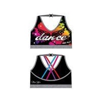 Mad Ally Dance Crop Bra