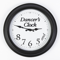 Dancer's Clock Black