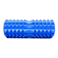 Mad Ally Textured Foam Roller Colour; Blue